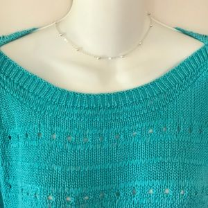 Grace Elements Sweaters - 🐳 GRACE ELEMENTS TURQUOISE SWEATER 🐳